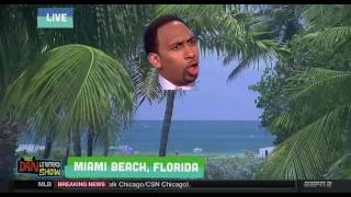 The Stephen A Smith weed-blueberry-crack remix from The Dan Le Batard Show