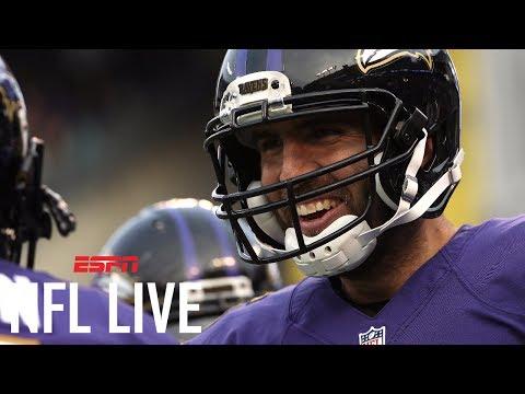 Has Joe Flacco's Production Dropped? | NFL Live | ESPN
