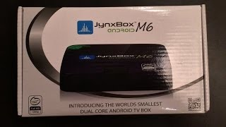 Jynxbox M6 Android TV Box - Unboxing & Setup - XBMC Pre-Installed