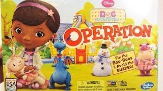 Doc McStuffins Operation by Hasbro Disney