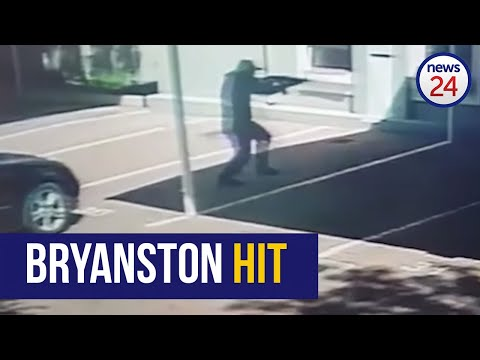 WATCH: Bryanston hit captured on CCTV