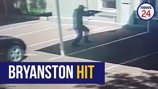 WATCH: Bryanston hit captured on CCTV