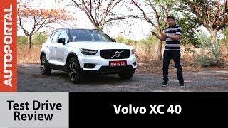Volvo XC40 (2018)  - Test Drive Review - Autoportal