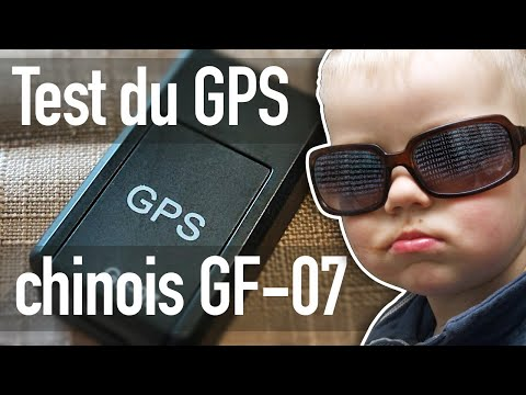 Test du tracker GPS chinois GF-07