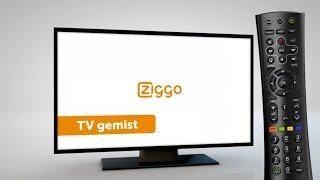 Interactieve televisie Humax - Televisie gemist - Ziggo