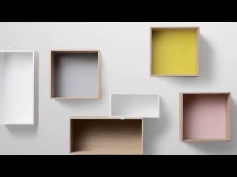 muuto stacked shelves youtube. Black Bedroom Furniture Sets. Home Design Ideas