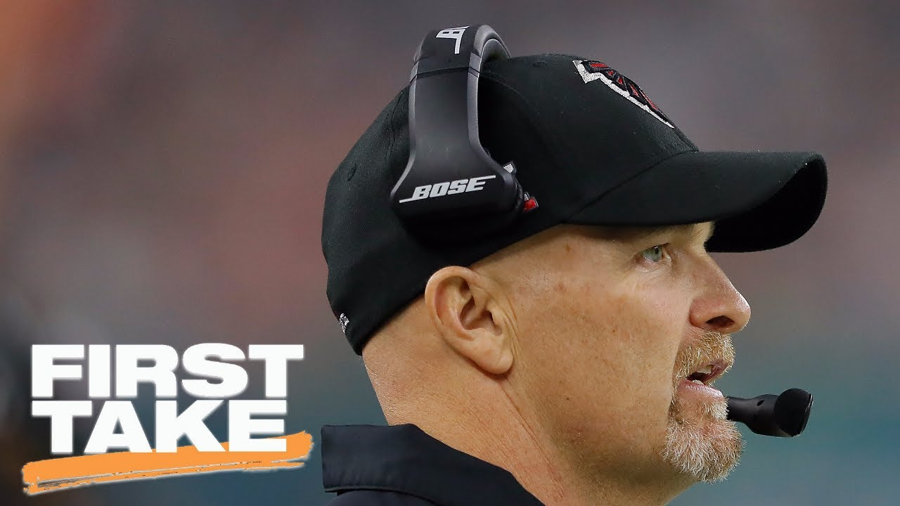 Dan Quinn Revisits Falcons Super Bowl 51 Loss First Take May 24 2017 Youtube