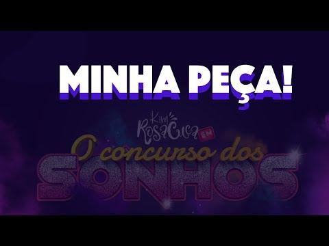 TEATRO: MINHA PEÇA PARA VOCÊ PELO BRASIL 😜| KIM ROSACUCA