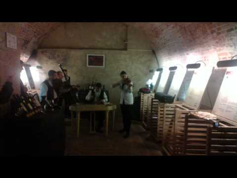 Metallica in a moravian wine cellar