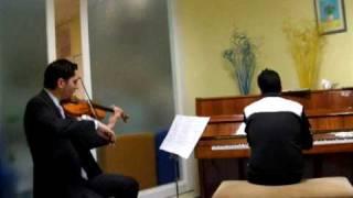 La Noyée-Yann Tiersen piano/violin