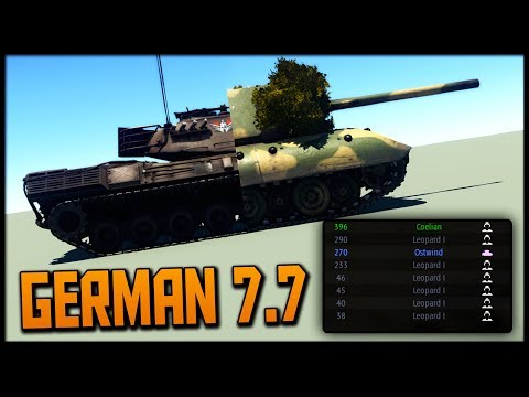 The Golden Tier | How to German 7.7 (War Thunder)