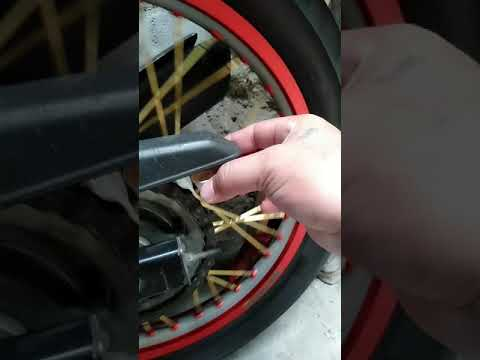 How to clean drive chain