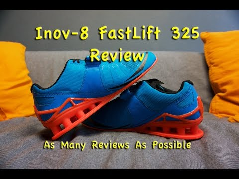 Youtube Review Best Fastlift 8 325 Weightlifting Inov Shoes q0O1A