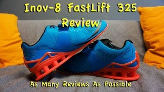 Inov-8 FastLift 325 Review – Best Weightlifting Shoes