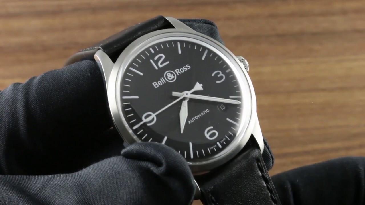 bc8d00119d Bell   Ross BR V1-92 Black Steel (BRV192-BL-ST SCA) Luxury Watch Review