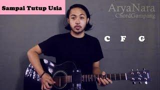 Chord Gampang (Sampai Tutup Usia - Angga Candra) by Arya Nara (Tutorial Gitar) Untuk Pemula