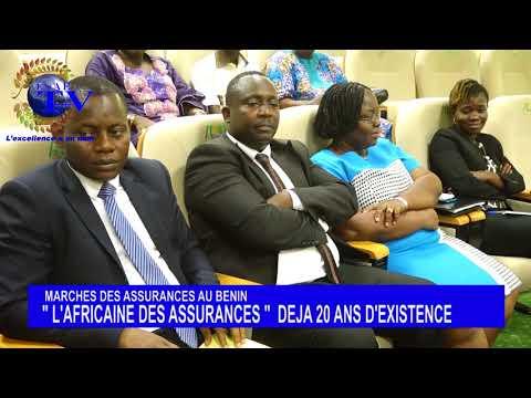 CONFERENCE DE PRESSE DE L'AFRICAINE DES ASSURANCES DE CE LUNDI 05 MARS 2018