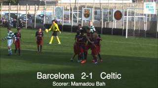 FC Barcelona vs Celtic - Academy Cup 2016
