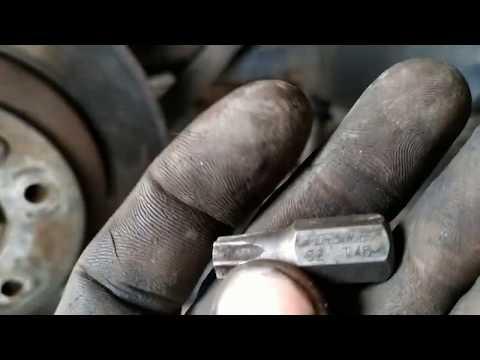 Замена заднего подшипника ступицы VW Touareg