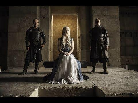 Дрогон напал на стадо. Хиздар зо Лорак просит у Дейенерис достойного погребения для господ Миэрина