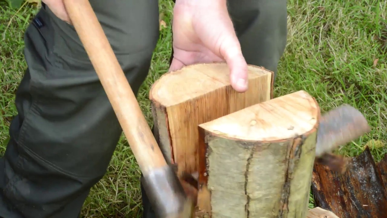 An Introduction to Green Woodwork - Part 1: Splitting the Log ...