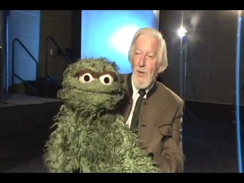 with Caroll Spinney AKA Big Bird & Oscar The Grouch at the 2011 AAP National Conference
