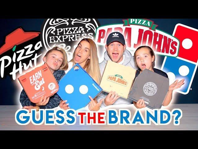 BLIND PIZZA TASTE TEST!!  (GUESS THE RESTAURANT)
