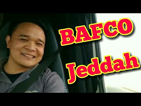 GOING TO BAFCO JEDDAH
