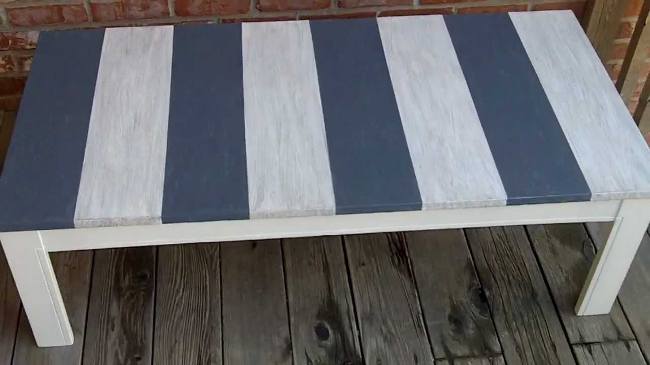 Genial EZ Distressed Beach Style Coffee Table Project