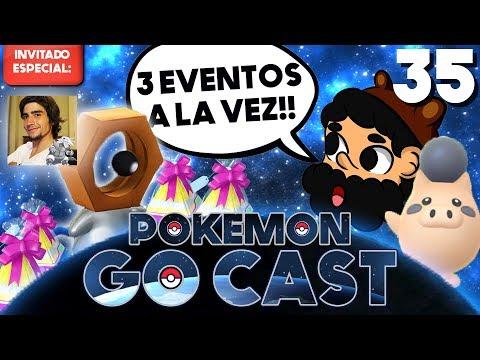 NUEVO EVENTO INESPERADO!! ft. Swaggron333 | POKEMON GO CAST EP 35 | 8BitCR thumbnail