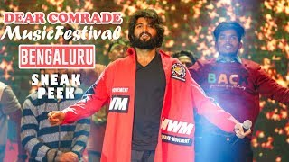 Dear Comrade Music Festival Banglore Sneak Peek | TFPC