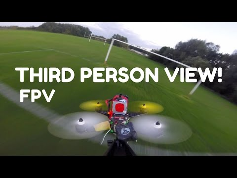 Third Person View FPV MiniQuad Flying