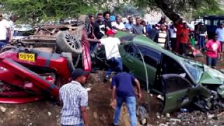 ARUSHA CAR RACING CRASH: Witness account, Chronological order of events leading to crash