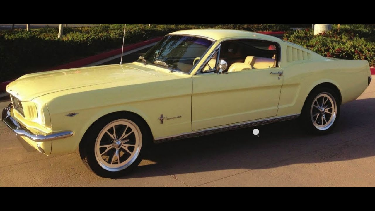 no sale at 35k! 1965 ford mustang fastback 2+2 at russo and steele's