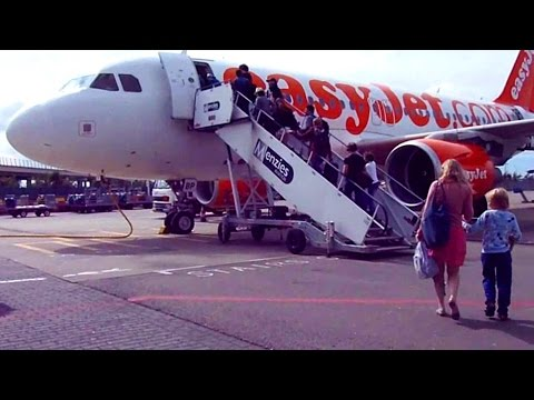 How to Fly Cheap in Europe! Flying EasyJet from Amsterdam to Lisbon