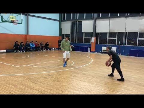 "5'7"" Hook Shot Streetballer vs 6'5"" CUBA College Team Member"