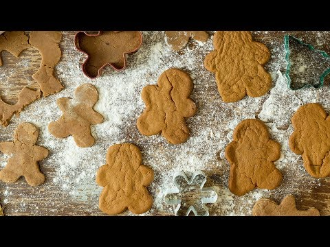 VEGAN GINGER BREAD BISCUITS | 12 DAYS OF CHRISTMAS