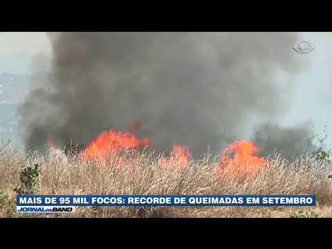 Brasil Bate Recorde De Incêndios Em Setembro