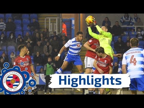 Highlights: Reading 1-0 Fulham, Sky Bet Championship, 24th January 2017