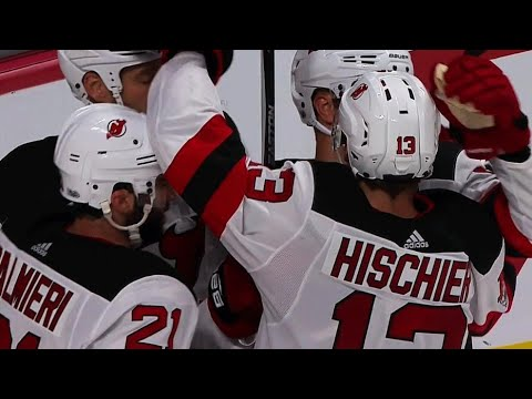 Hischier parked in front tips Hall pass past Price