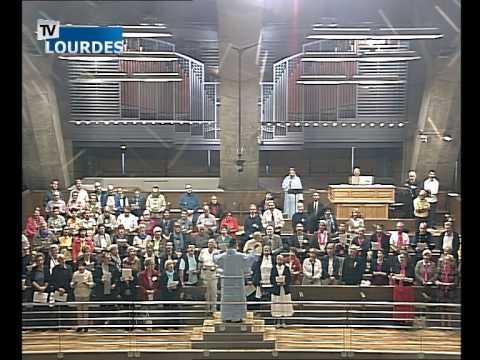 Lourdes Messe Internationale du mercredi 16 sept. 2015-International Mass (France)