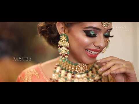 Best Bridal Makeup Highlight By RADHIKA PHOTO VISION