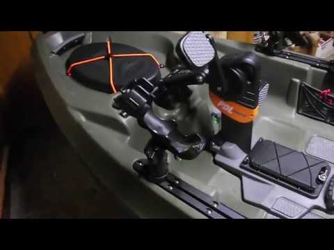 Repeat Topwater PDL MODS, FIXES, Quieting Rudder and Seat