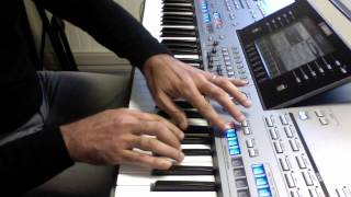 Lost on you LP (clavier piano arrangeur) Video