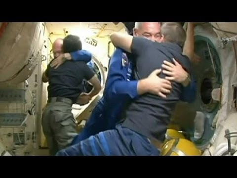 Soyuz docks with ISS after engine trouble delays arrival