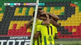 Bucaramanga vs. Patriotas (2-1) | Liga Aguila 2018-II | Fecha 7