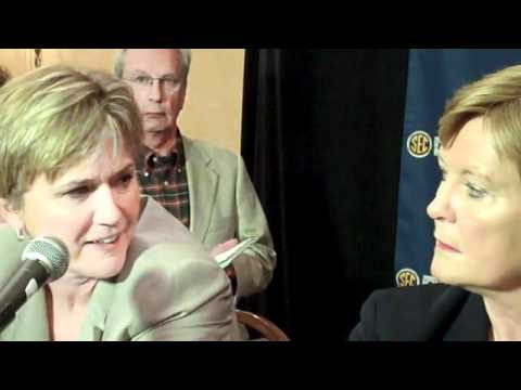 Lady Vols Head Coach Pat Summitt Press Conference At 2011 SEC Media Day (Part 3)