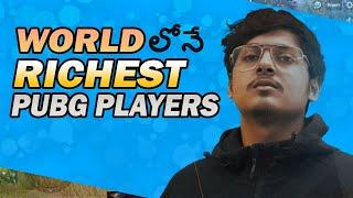 Top 5 Richest Pubg Players Among WorldWide In Telugu