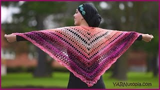 How to Crochet a Summer Shawl