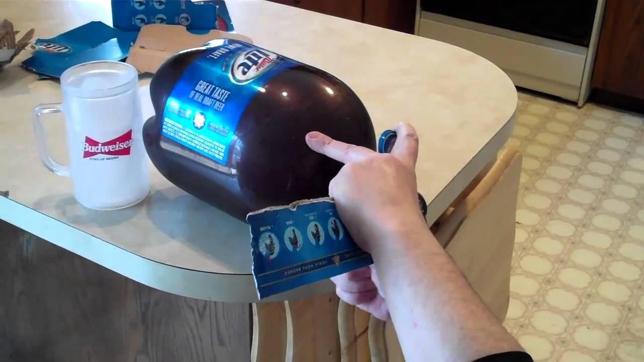 Mini Bud Light Keg